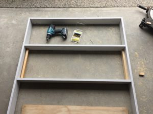 Second Shelf Fitting