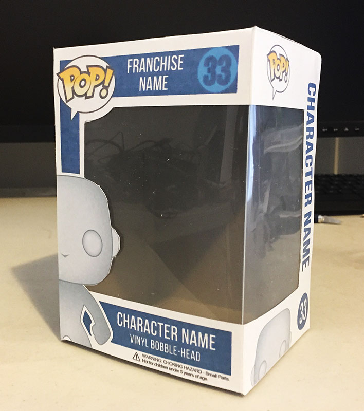 How To Make And Assemble Your Own Custom A4 Pop Box Pop Vinyl FAQ