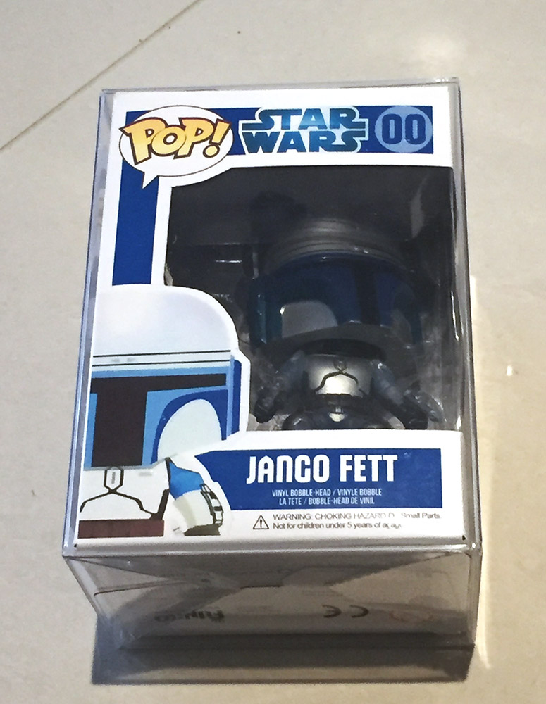 Finished Jango Fett Box